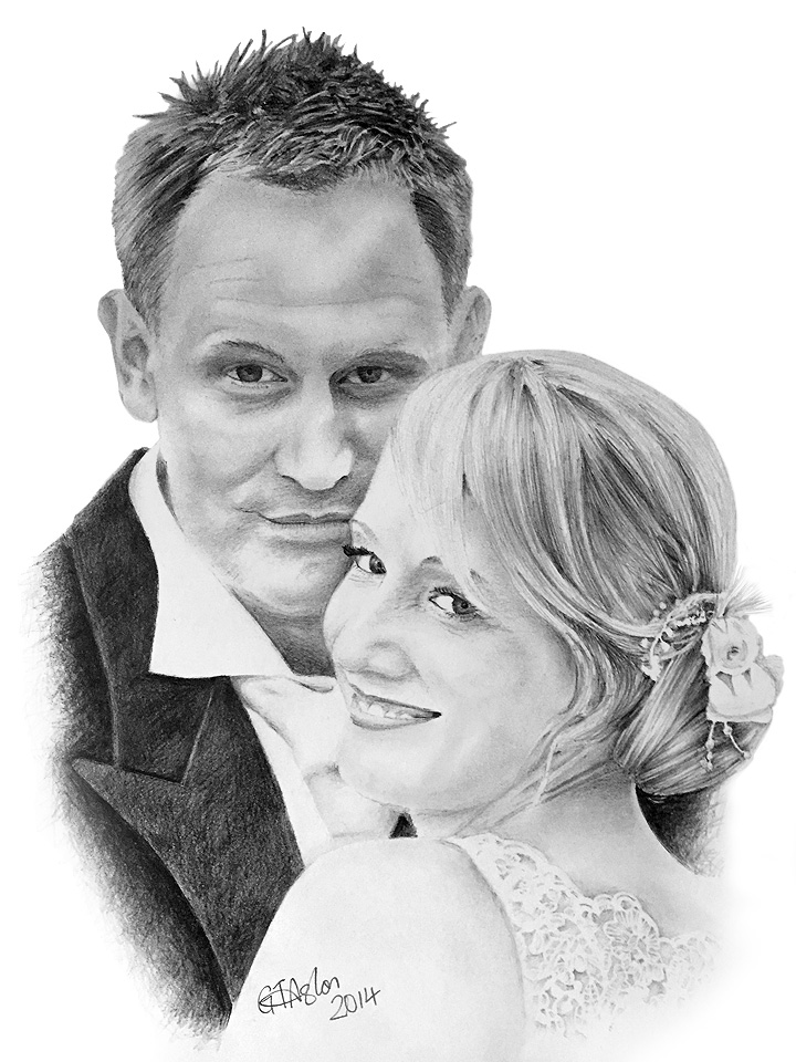 First Wedding anniversary present drawing